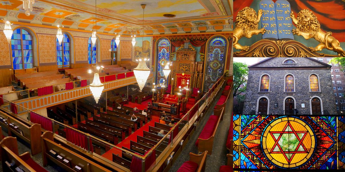 Private Lecture & Tour @ Bialystoker Synagogue, Lower East Side Hidden Gem, 14 October | Event in New York