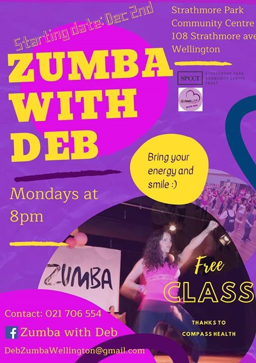Zumba with Deb is back