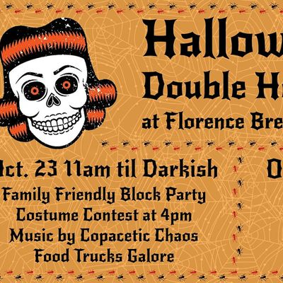 Halloween Food Truck Rally at Florence Brewing Company Oct. 23rd