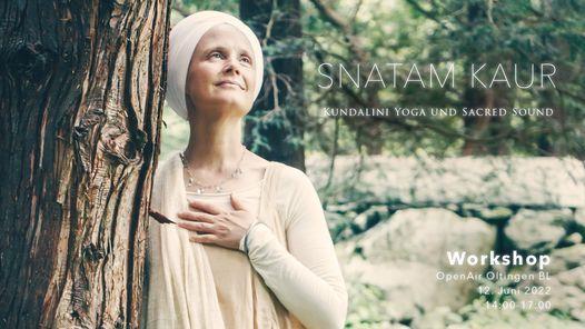 Snatam Kaur Workshop Zrich  Kundalini Yoga and Sacred Sound