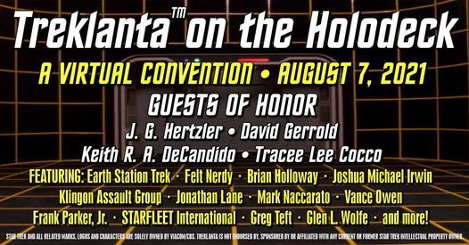 Treklanta™ on the Holodeck 2021, August 7 2021   Online Event   AllEvents.in