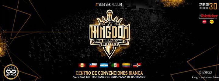 Kingdom Internacional 2021, 30 October | Event in Santiago De Surco | AllEvents.in