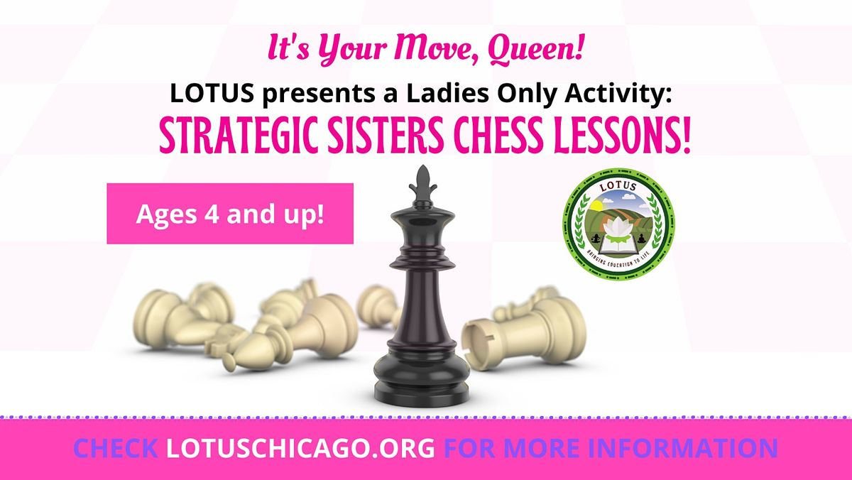 Girls Online Chess Course - 8 wks (It's Your Move, Queen!), 3 October | Online Event | AllEvents.in