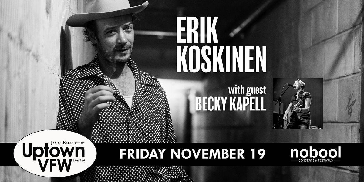 Erik Koskinen with guest Mark Erelli, 19 November   Event in Minneapolis   AllEvents.in