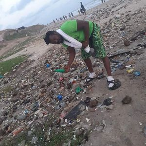 Accra Arts Center beach Clean up