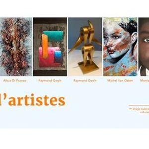 La Galerie by Culture Lige vous invite  venir dcouvrir sa nouvelle exposition Regards dartistes