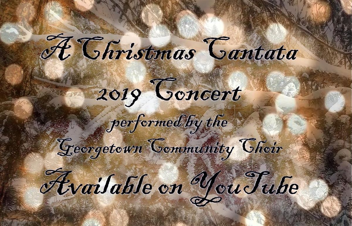 Reprise: A Christmas Cantata | Event in Georgetown | AllEvents.in
