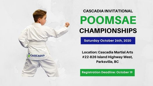 2020 Cascadia Invitational Poomsae Championships | Event in Parksville | AllEvents.in