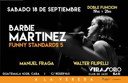 BARBIE MARTINEZ Funny Standards 5 | Event in Buenos Aires | AllEvents.in