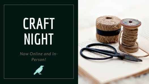 Craft Night - Online and In-Person! | Event in Guelph | AllEvents.in