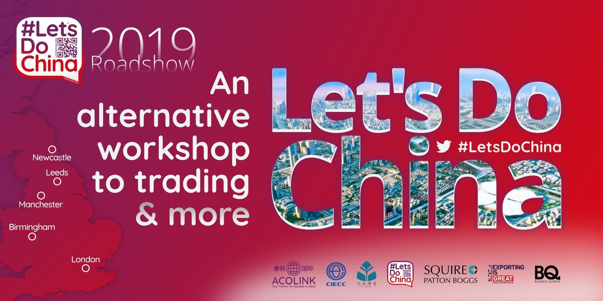 Lets Do China  NEWCASTLE The alternative workshop to trading (Roadshow)