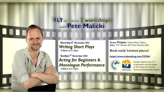 Acting for Beginners and Monologue workshop, 7 November | Event in Gulliver | AllEvents.in