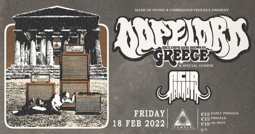 Dopelord [PL] live in Athens, 18 February | Event in Athens | AllEvents.in