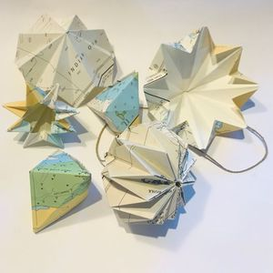Nautical Origami with Sea Sky Design