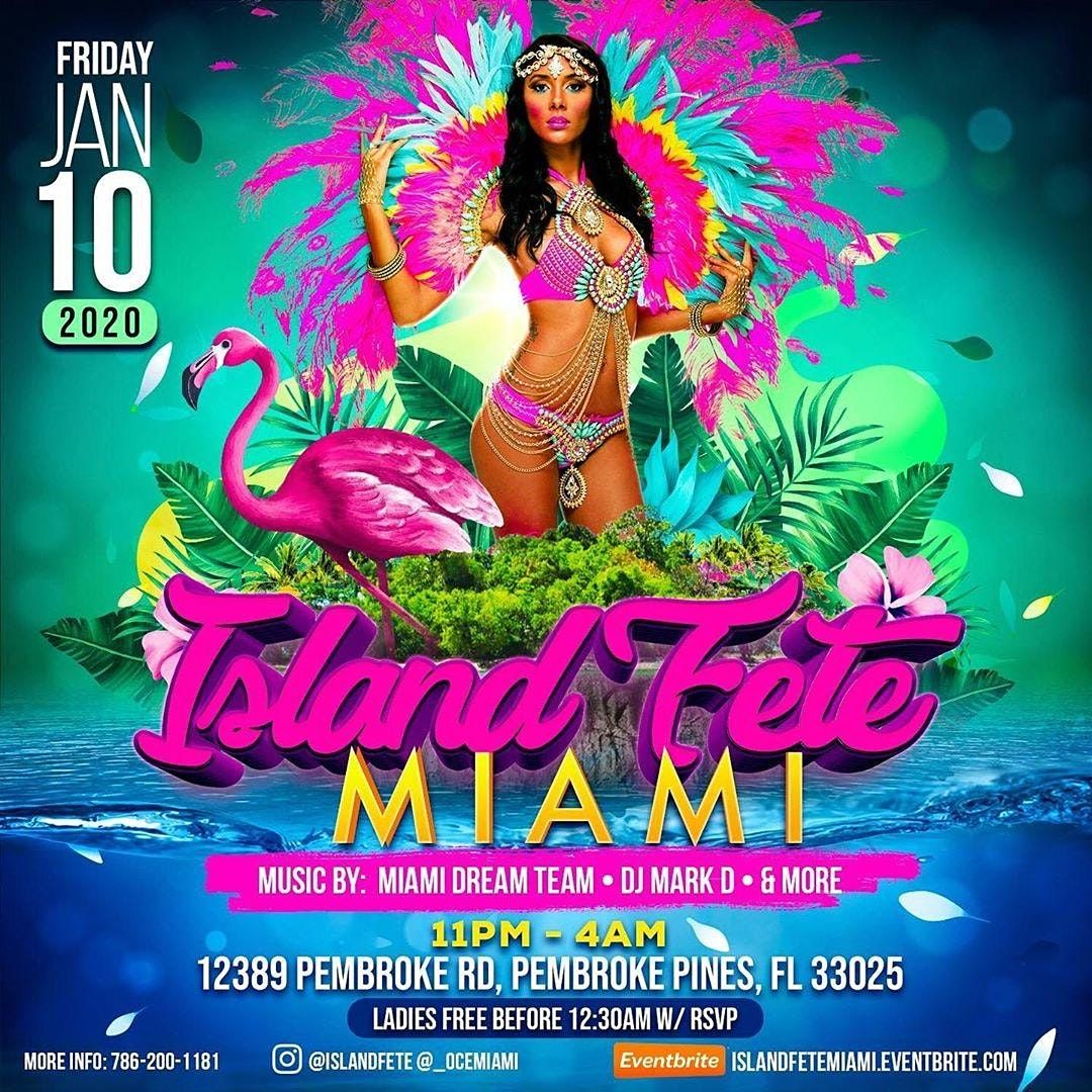 Island Fete Miami, 8 January | Event in Fort Lauderdale  | AllEvents.in