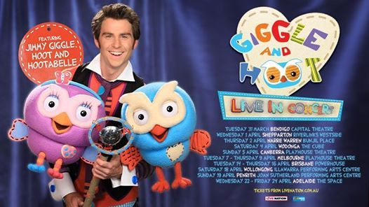 Rescheduled - Giggle and Hoot - Live In Concert  Brisbane