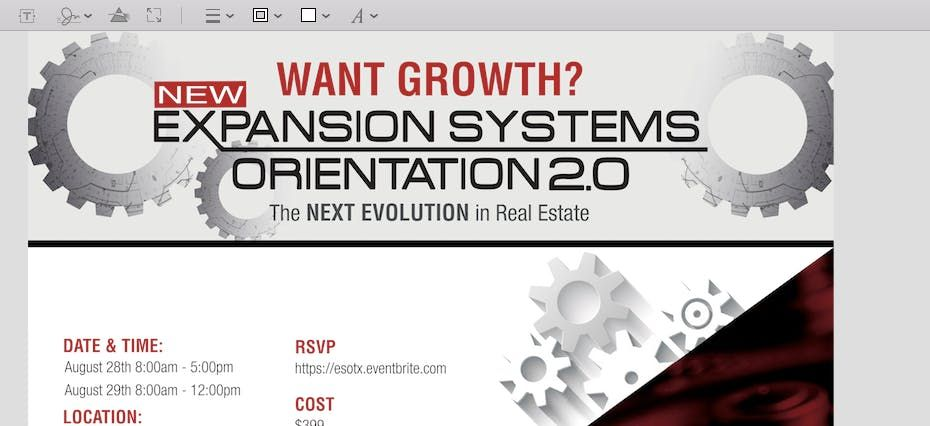 Expansion Systems Orientation 2.0 (ESO 2.0) with Kristan Cole in Scottsdale AZ