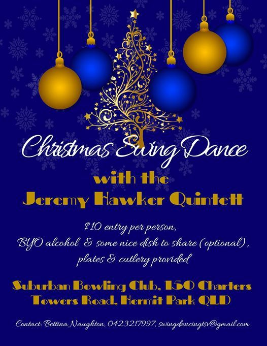 Christmas Swing Dance Party