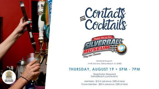 Contacts & Cocktails, 19 August | Event in Delray Beach | AllEvents.in