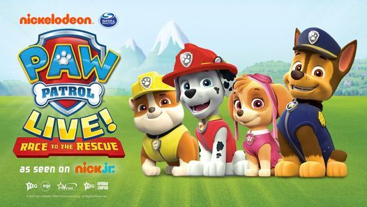 Paw Patrol - Race To the Rescue, 7 August | Event in Birmingham | AllEvents.in