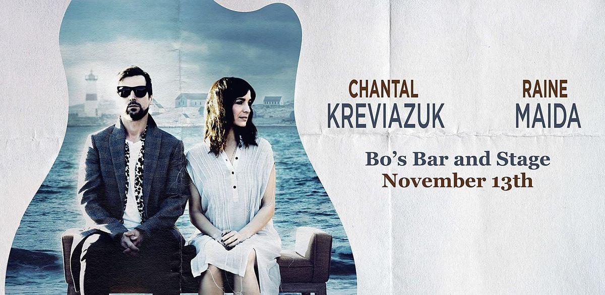 RAINE MAIDA & CHANTAL KREVIAZUK, 13 November   Event in Red Deer   AllEvents.in