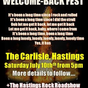 Hastings Rock Welcomes You Back