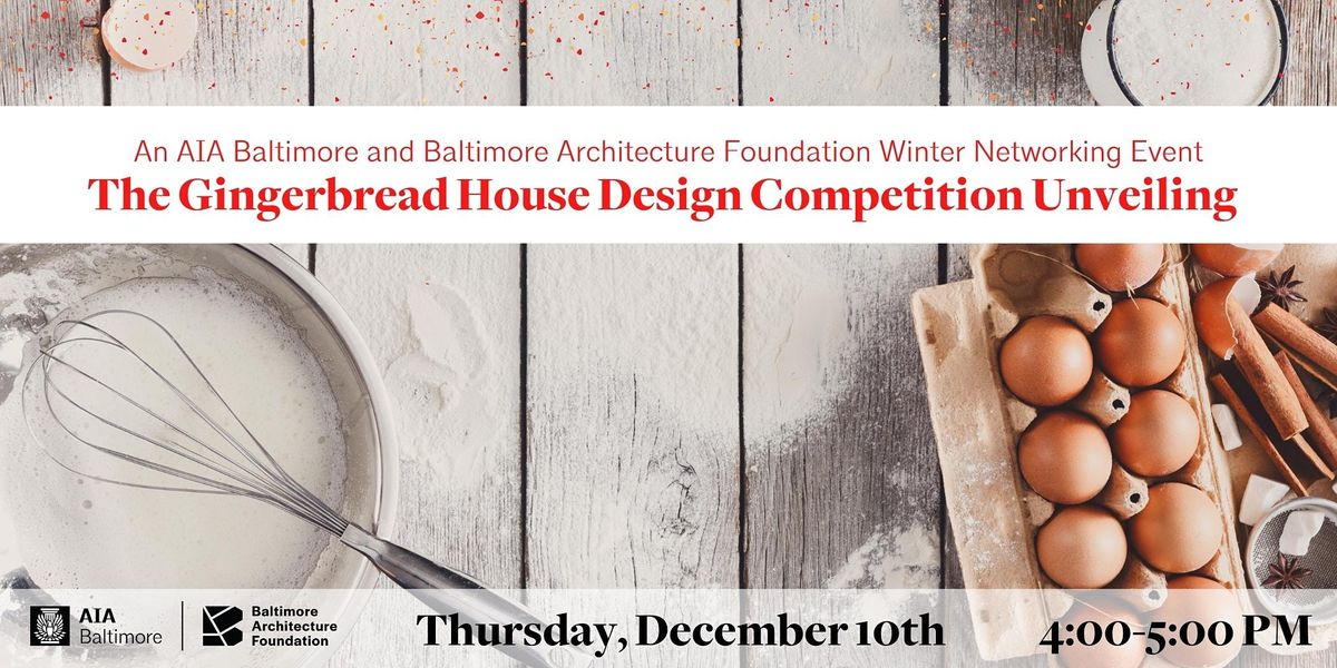 The Ultimate Gingerbread Design Competition, 10 December | Online Event | AllEvents.in
