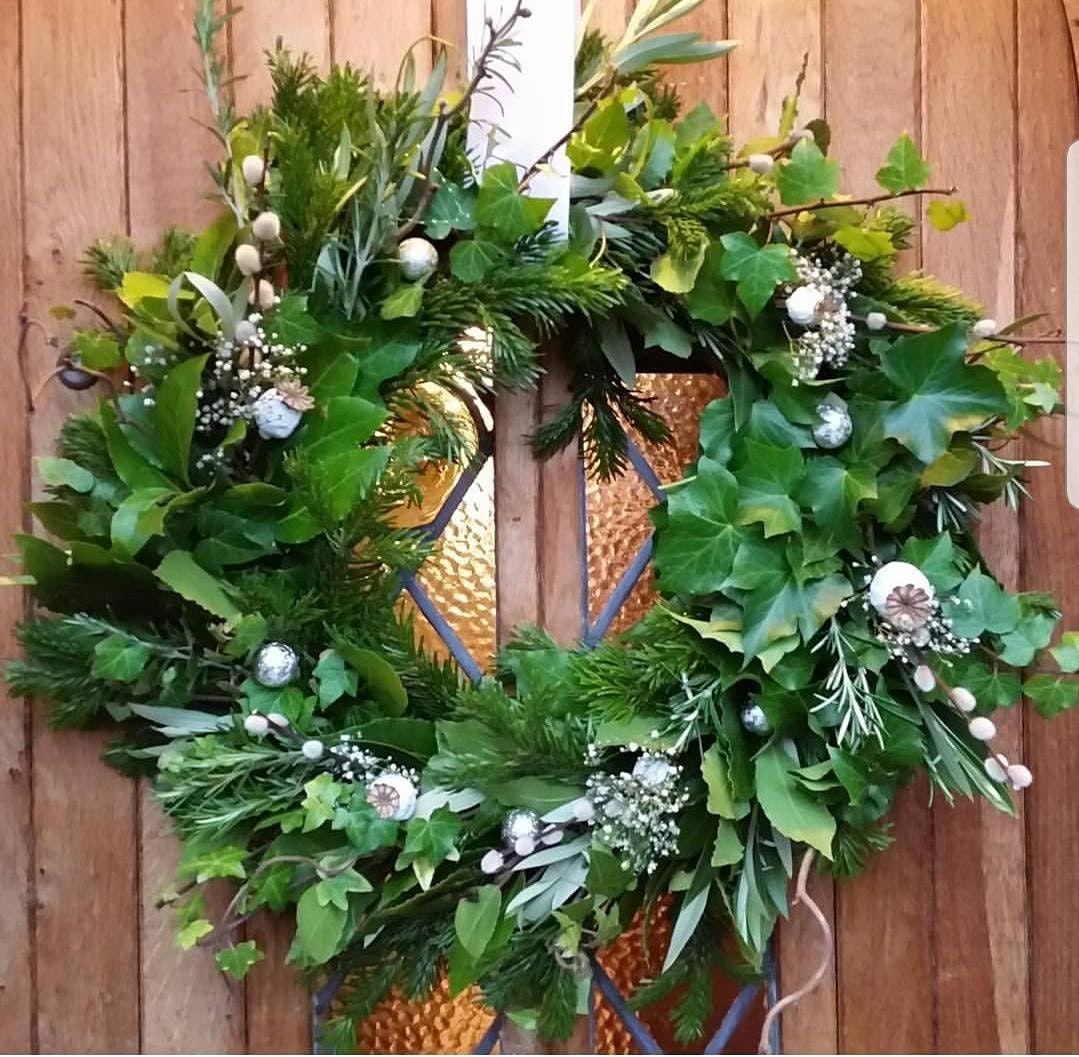 Gardening Lady Christmas Wreath Making Workshop 2, 27 November | Event in Preston | AllEvents.in