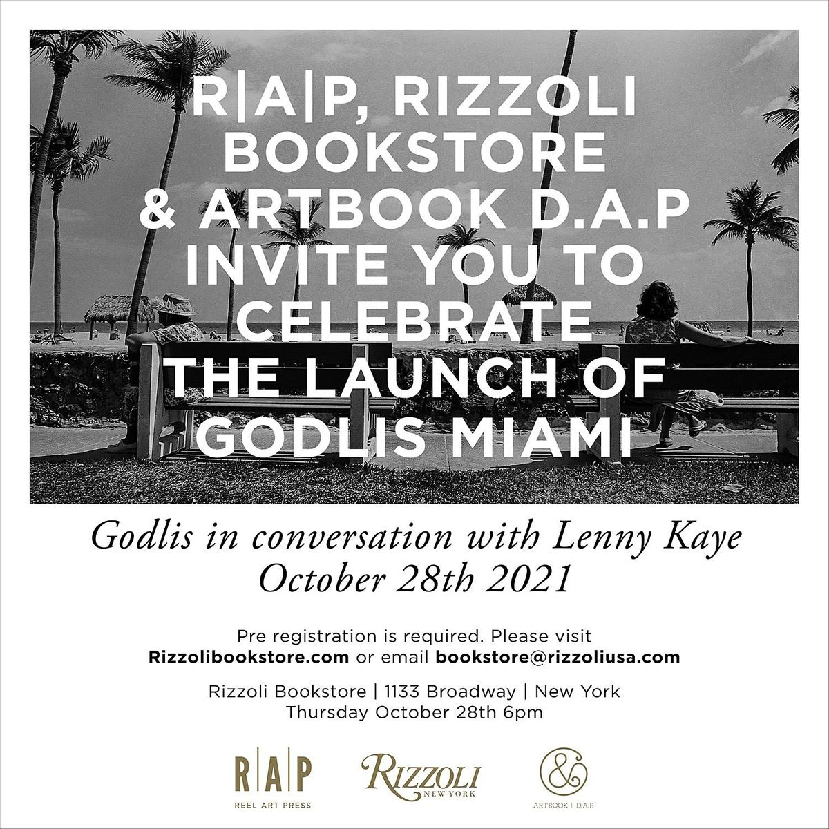 GODLIS MIAMI BY DAVID GODLIS - IN PERSON EVENT, 28 October | Event in New York | AllEvents.in