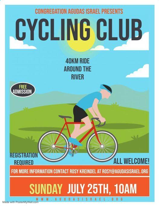 Congregation Agudas Israel Cycling Club, 25 July | Event in Saskatoon | AllEvents.in
