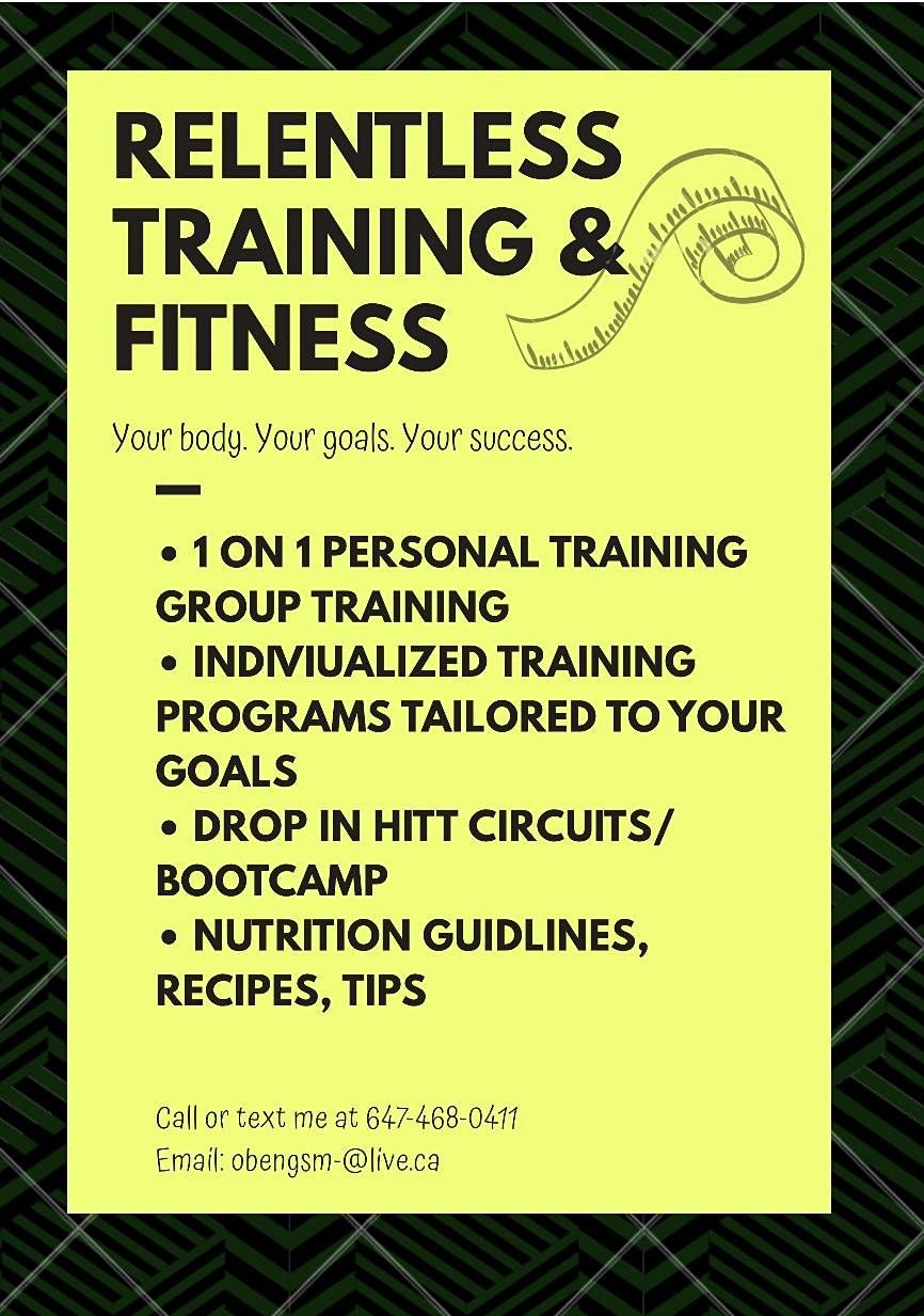 Relentless TF Personal & Group Training