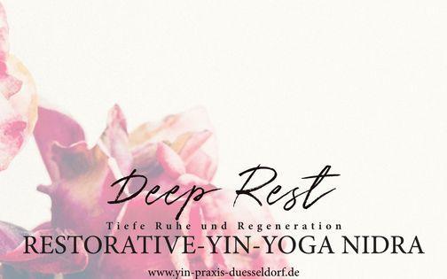 Deep Rest: Restorative-Yin-Yoga Nidra mit Tanja Franz, 25 April | Online Event | AllEvents.in