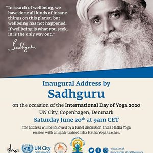 International Yoga Day 2020 with Isha Foundation & UN City