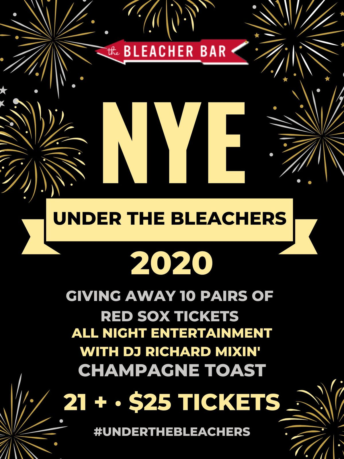 Boston New Years Eve 2020.New Years Eve Underthebleachers