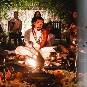 Full Moon Circle and Sacred Fire Ceremony w Kalki Das & Claudia Aros