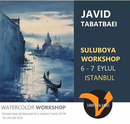 Javid Tabatabaei ile Suluboya almas