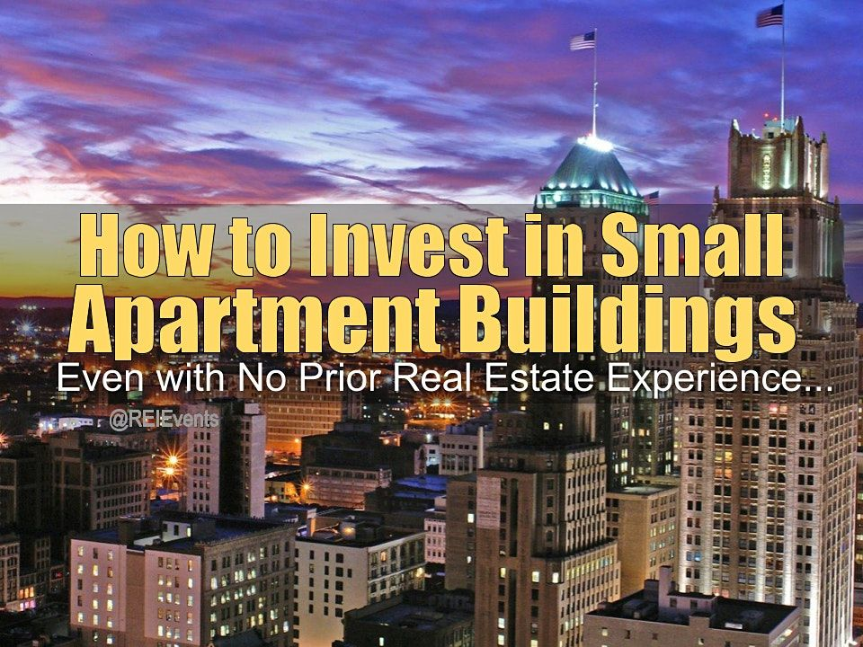 Investing on Small Apartment Buildings in Newark NJ, 30 December | Event in Newark | AllEvents.in