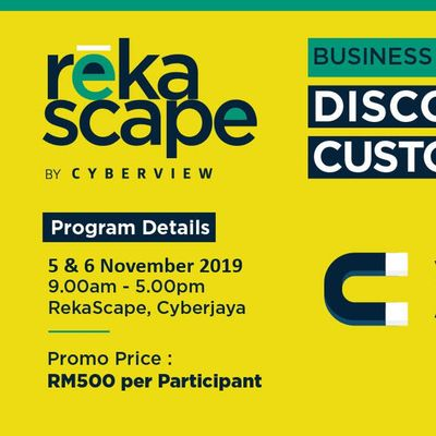 Business Growth Discovering Your Customers (powered by RekaScape)