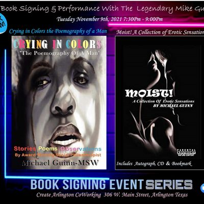 Book Signing For The Legendary Mr Mike Guinn