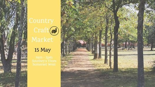Country Craft Market, 15 May   Event in Somerset West   AllEvents.in