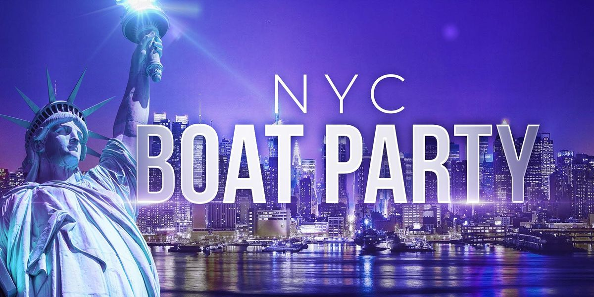#1 New York City Booze Cruise - Saturday Night Party on Lux Yacht Infinity   Event in New York   AllEvents.in
