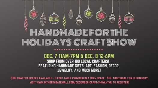 Northgate Malls Handmade For The Holidays
