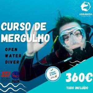 Curso de Mergulho Open Water Diver