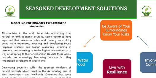 Modeling For Disaster Preparedness and Response Training, 5 July   Event in Nairobi   AllEvents.in