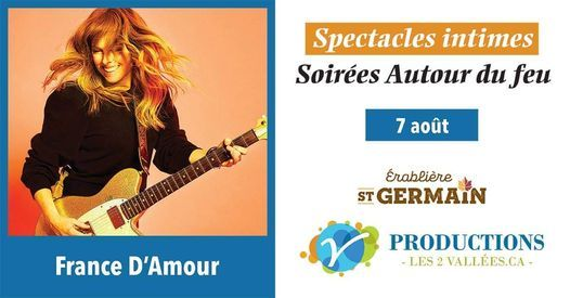 Spectacle de France D'Amour, 7 August   Event in Gatineau   AllEvents.in