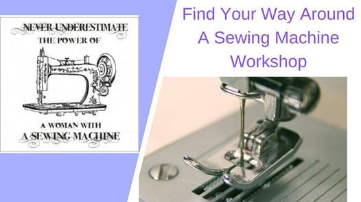 Find Your way Around A Sewing Machine Workshop