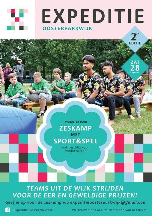 Expeditie Oosterparkwijk, 28 August | Event in Groningen | AllEvents.in