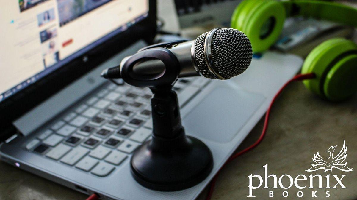 Phoenix Books Virtual Poetry Open Mic, 28 October   Online Event   AllEvents.in