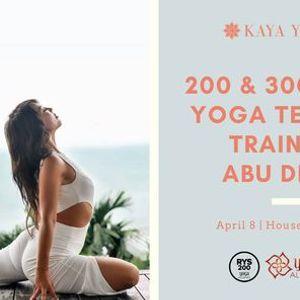 200 & 300-Hour Yoga Teacher Training - Abu Dhabi