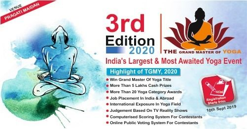 "3rd International Yoga Contest ""The Grand Master of Yoga 2020"", 11 December 